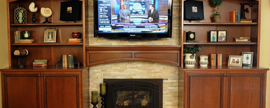 cherry-bookcases-and-fireplace-mantel
