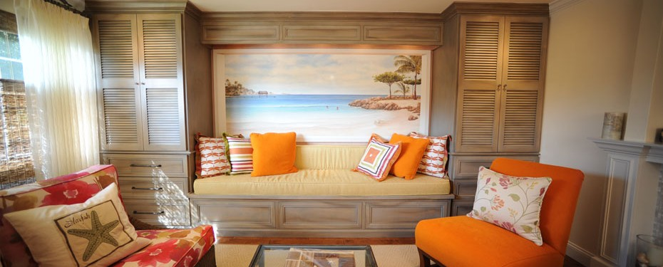 living-room-cabinets-with-weathered-finish