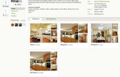 Houzz The Wood Connection profile